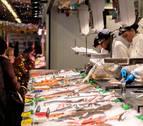 El gorrín sube hasta un 33% y la merluza de anzuelo llega a los 30€