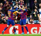 El Barcelona cierra el año en lo más alto de la clasificación