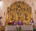 La iglesia románica de San Martín de Tours en Otiñano luce renovada