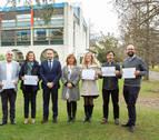 La UPNA reconoce la labor de seis docentes