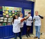 Nuevos trabajadores del Ayuntamiento de Pamplona, agraciados con el tercer premio