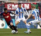 Real Sociedad-Osasuna, eliminatoria de octavos en la Copa a partido único en Anoeta