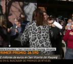 Una reportera de TVE celebra en directo que le ha tocado