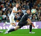La falta de pegada condena al Real Madrid al empate