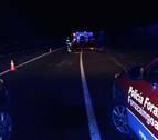 Herido un conductor tras sufrir un accidente en la N-121-A, en Santesteban