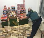 La Guardia Civil revisará los puntos de venta de material pirotécnico estas Navidades