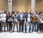 Pamplona entrega los premios del XXIX Certamen Literario en Euskera