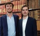 Íñigo de Carlos y David Garciandía, únicos alumnos de habla hispana en el Oxford IV