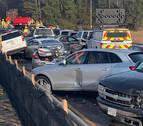 Un accidente múltiple entre 63 vehículos deja  35 heridos en el estado de Virginia