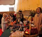 Los comerciantes de Peralta salen a la calle por Navidad