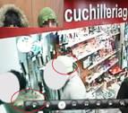 El gorro verde, clave para detener a los autores de un hurto en una cuchillería de Pamplona