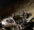 Tres jóvenes mueren y otro resulta herido grave en un accidente en la M50 en Madrid