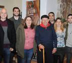 Caparroso homenajea a uno de sus vecinos más longevos, José Araiz