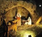 Jesús nace en el belén de Peralta