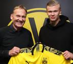 El noruego Erling Haaland ficha por el Borussia Dortmund hasta junio de 2024