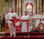 El miércoles 1, primera  misa de la escalera en la capilla de San Fermín