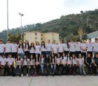 Un reto deportivo pone en forma a los alumnos del IES Tierra Estella