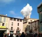 Nueve heridos en una explosión pirotécnica en fiesta de Centelles (Barcelona)