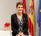 María Chivite: &quotLa derecha vivía mejor con ETA
