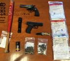 Policía Foral denuncia a seis personas por portar armas en Dantxarinea