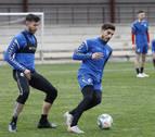 Marc Cardona regresa a los entrenamientos con el equipo