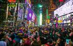 Un millón de personas reciben el 2020 en Times Square
