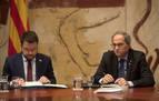 Torra recalca a ERC que el Govern no asume el acuerdo con el PSOE