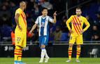 Abelardo reactiva al colista contra un Barça a medio gas