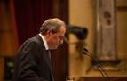 El Parlament, abocado a otra jornada de tensión ante la orden de apartar a Torra