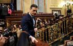 Continúa el debate, tras una jornada bronca en la que Sánchez amarra la investidura