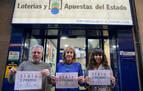 El segundo premio del Sorteo de El Niño deja 675.000 euros en Pamplona y Tudela