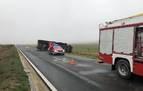 Dos heridos leves en sendos accidentes de tráfico en Peralta y Lekunberri