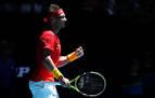 Nadal mete a España en cuartos de la ATP pese a sufrir contra Nishioka