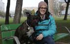 Xenna, la perra que celebra que tiene casa