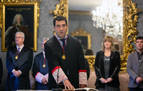 Hugo López toma posesión como miembro del Consejo de Navarra