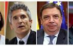 Grande-Marlaska, Maroto, Planas, Ábalos y Robles continuarán al frente de sus ministerios