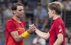 Nadal cae ante Goffin y España se jugará el pase a semis en el dobles
