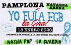 Vuelve la música de los 70 y 80 con 'Yo fui a EGB, la gira', este sábado en el Navarra Arena