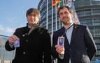 Puigdemont quiere visitar a los presos en febrero con grupo de eurodiputados
