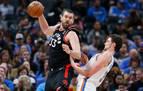 Gasol vuelve a jugar con los Raptors tras perderse 12 partidos por lesión