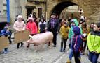 La Rifa del Cuto de San Antón en Artajona da la vuelta al mundo