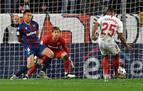 El Sevilla sigue adelante en la Copa y el Mallorca cae eliminado