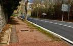 Cendea y concejo de Cizur priorizan arreglar la acera de la carretera