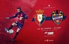 Venta de entradas para el partido Osasuna-Levante