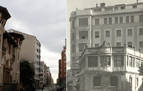 Cuando cambió... la calle San ignacio con Bergamín
