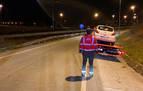 Detenida una conductora novel tras sufrir un accidente y negarse a hacer la alcoholemia