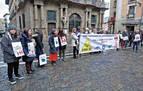Protesta en Pamplona contra las redes 5G