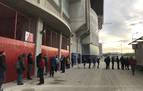 Las 868 entradas para el Real Sociedad-Osasuna copero, agotadas en dos horas