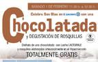 E.Leclerc celebra San Blas en Pamplona invitando a sus clientes a una chocolatada