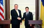 Pompeo reafirma el apoyo de EEUU a Ucrania en medio del proceso contra Trump